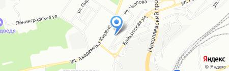 Нарцисс на карте Красноярска