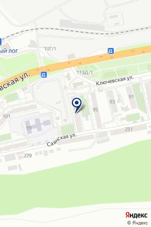 АПТЕКА № 60 на карте Красноярска