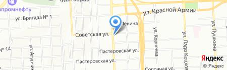 Отличник на карте Красноярска