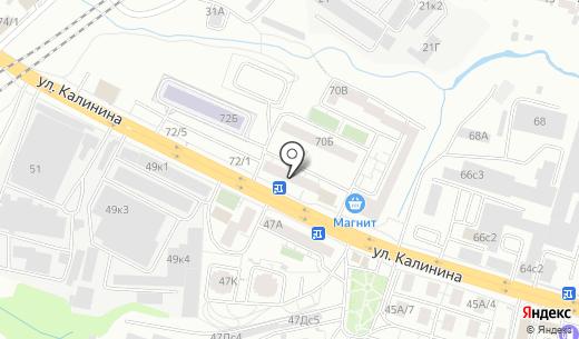 Банкомат Восточно-Сибирский банк Сбербанка России. Схема проезда в Красноярске