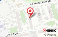 Схема проезда до компании Сибирская Марка в Красноярске