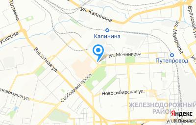 Местоположение на карте пункта техосмотра по адресу г Красноярск, пр-кт Свободный, д 44Г