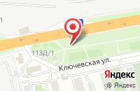 Схема проезда до компании Интерсиб Плюс в Красноярске