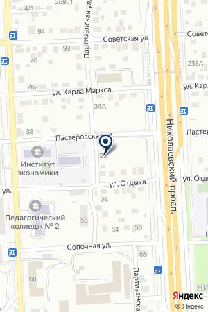 ПЕКАРНЯ на карте Красноярска