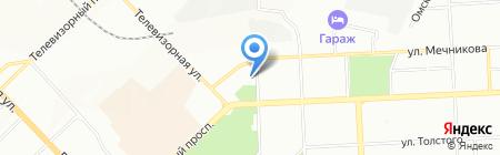 Юнга-Club на карте Красноярска