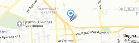 Прайд на карте Красноярска