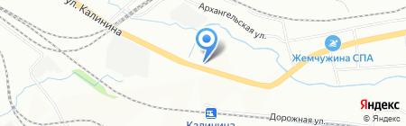 Алмаз Инжиниринг на карте Красноярска