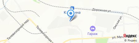 Авангард Транс Логистик на карте Красноярска