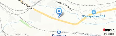 Гаро на карте Красноярска
