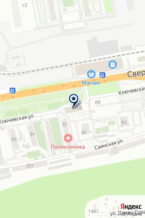 ПРОИЗВОДСТВЕННО-ТОРГОВОЕ ПРЕДПРИЯТИЕ КРАСНОЯРСКИЙ ДОК на карте Красноярска