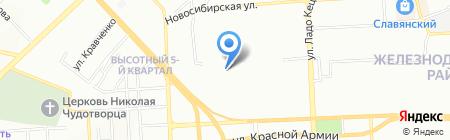 Время-Универс на карте Красноярска