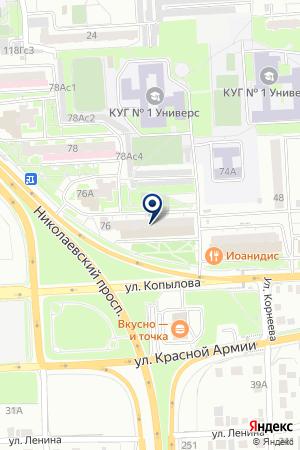 САЛОН ОПЕРАТОР на карте Красноярска