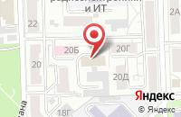 Схема проезда до компании Синергия в Красноярске
