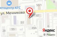 Схема проезда до компании Сотрудничество Во Имя Прогресса в Красноярске