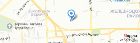 Детский сад №321 Росинка на карте Красноярска