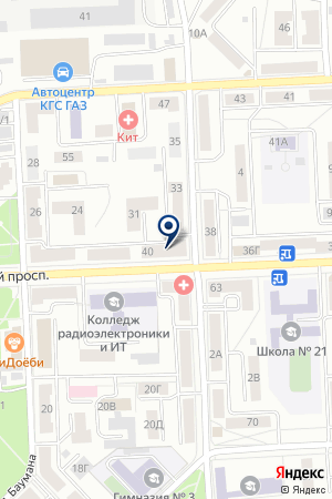 ПРОИЗВОДСТВЕННАЯ ФИРМА ТЕПЛОЛЮКС-К на карте Красноярска