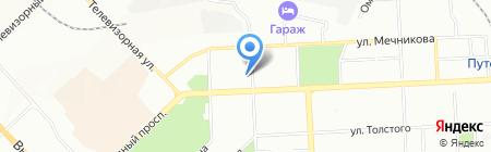 Аркум на карте Красноярска