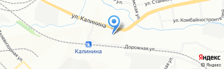СКИФ на карте Красноярска