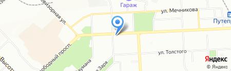 Ваше здоровье на карте Красноярска