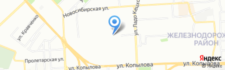 Рита на карте Красноярска