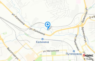 Местоположение на карте пункта техосмотра по адресу г Красноярск, ул Цимлянская, д 1А
