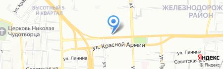 Банкомат Банк УРАЛСИБ на карте Красноярска