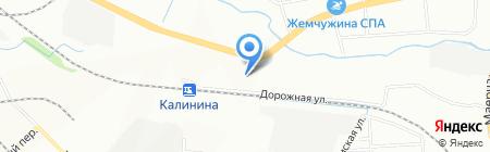 Оливьера на карте Красноярска