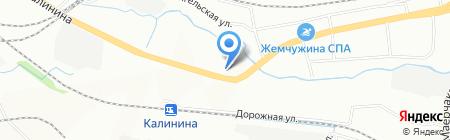 Альянс-металл на карте Красноярска