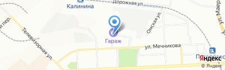 8 марта на карте Красноярска