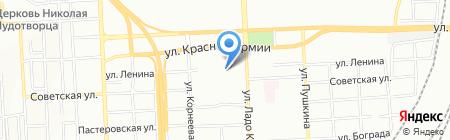 Ангизия на карте Красноярска