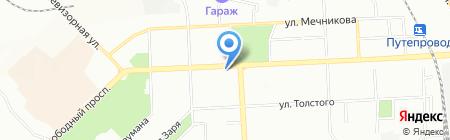 АРЕВЕРА-Недвижимость на карте Красноярска