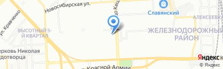 Лига Сервис на карте Красноярска