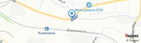 Корнелли на карте Красноярска