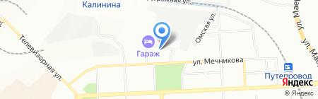 Банкомат АКБ Союз на карте Красноярска