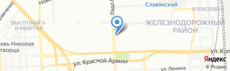 Мелодия Здоровья на карте Красноярска
