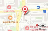 Схема проезда до компании Прометей в Красноярске