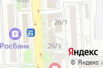 Схема проезда до компании Банкомат, Банк ВТБ 24, ПАО в Красноярске