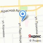 Шатура на карте Красноярска