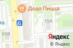 Схема проезда до компании Киоск по ремонту обуви в Красноярске