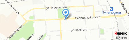 Вита-плюс на карте Красноярска
