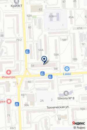 ПРОМТОВАРНЫЙ МАГАЗИН МЕРКУРИЙ на карте Красноярска