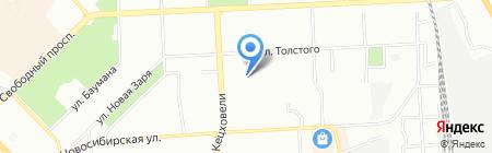 Детский сад №8 на карте Красноярска