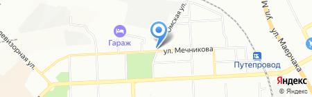 Аптека на Мечникова на карте Красноярска