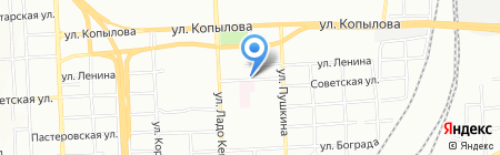 Аракс на карте Красноярска