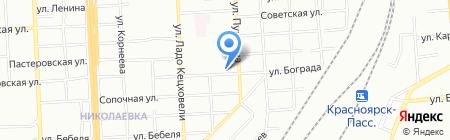 Банкомат Банк ВТБ 24 ПАО на карте Красноярска