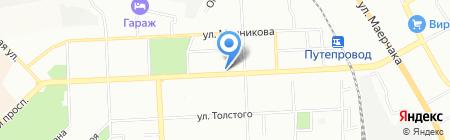 Нью Лайф на карте Красноярска
