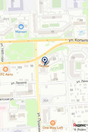 АГЕНТСТВО НЕДВИЖИМОСТИ ВАВИЛОН на карте Красноярска