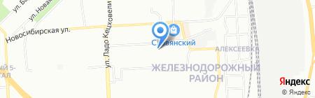 ПрофитСтрой на карте Красноярска