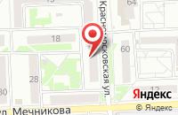 Схема проезда до компании Союз Ремесленников в Красноярске