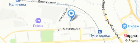 Дымов на карте Красноярска
